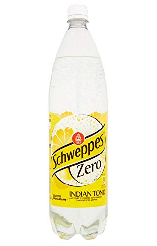 Schweppes indian tonic zéro 1,5L (lot de 12)