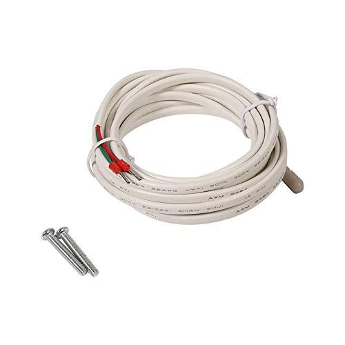 sistema de autocontrol termostato de calefacción fácil de usar, interruptor de control de temperatura, termostato de calefacción por suelo radiante, interior para el hogar