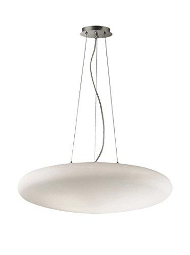 Ideal Lux Smarties SP5 D60 Bianco Lampada a Sospensione E27