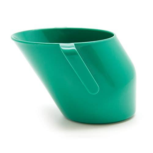 Doidy Cup - der gesunde Trinklernbecher 10081 - Sin boquilla, color verde