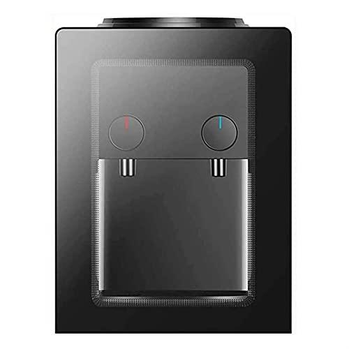 ELXSZJ XTZJ Carga Superior Compact Mini Desktop/Countertop Water Refriger Dispensador Hot y Frío con enfriamiento termoeléctrico, para Botella/Jarra de 3 o 5 galones
