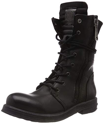 Replay Damen Evy Biker Boots, Schwarz (Black 3), 39 EU