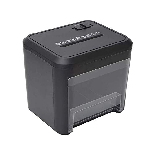 Affordable Mini Portable File Shredder Cross-Cut Paper,Overheating Protection,Induction Feeding Pape...
