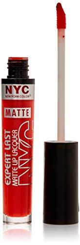 NYC Expert Last Lip Lacquer Orange Rouge