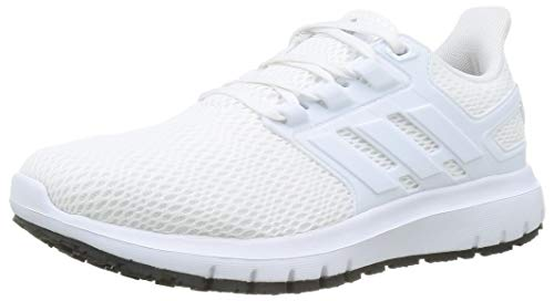 adidas Mens ULTIMASHOW Running Shoe, FTWWHT/FTWWHT/GRETWO,44 EU