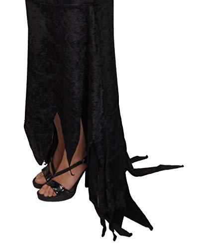 Ciao-Costume Morticia Addams Family (Taglia unica donna), Nero, 11140