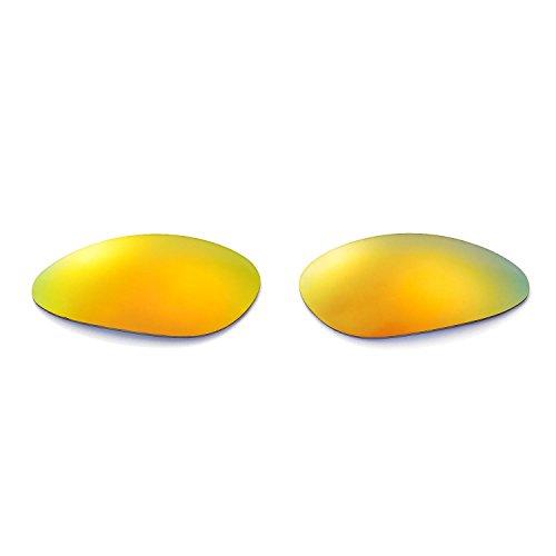New Walleva Polarized 24K Gold Lenses And 24K Gold Earsocks For Oakley Penny