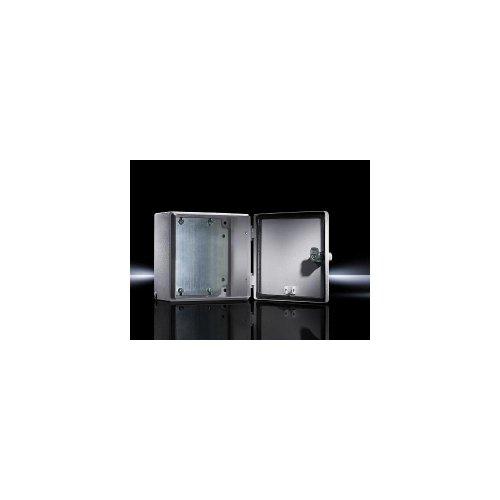 RITTAL Elektro Box EB Wandmodell pulverbeschichtet an der Aussenseite RAL 7035 150x150x80mm