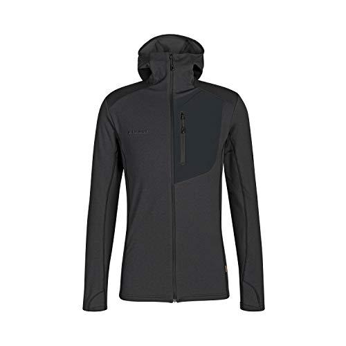Mammut Aconcagua Light Ml Hooded Jacke für Herren L Schwarz/ Schwarz