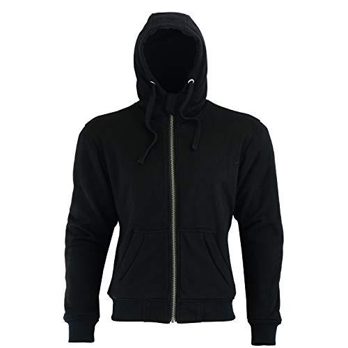 BOSmoto Hoody Hoodie mit Dupont Kevlar® Motorradjacke Roller Jacke…