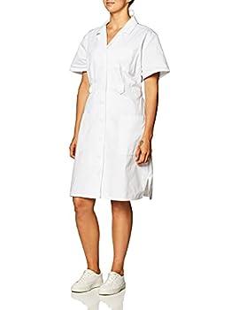 Dickies EDS Professional Women Scrubs Dress Button Front 84500 XL White