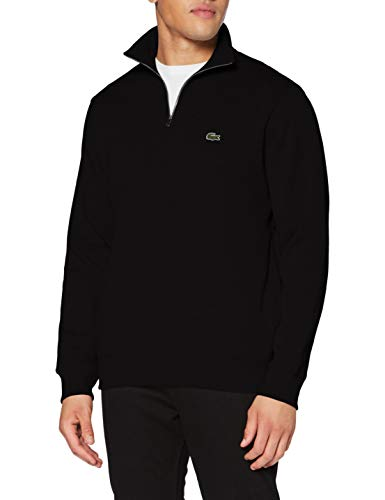 Lacoste Herren Sh1927 Pullover, Noir, 5