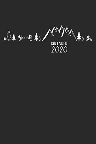 Kalender 2020: Mountainbike MTB Jahresplaner Monatsplaner Wochenplaner Organizer Terminplaner Terminkalender I Geschenk für Mountainbiker Radsportler ... Geburtstag I A5 Softcover mit 110 Seiten