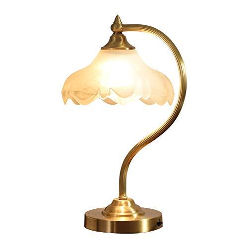 WFL-bureaulamp Tafellamp Basis Dimbaar Hotel Lobby Office Slaapkamer Nachtkastje Messing Linnen Textiel Eenvoudige Tafellamp