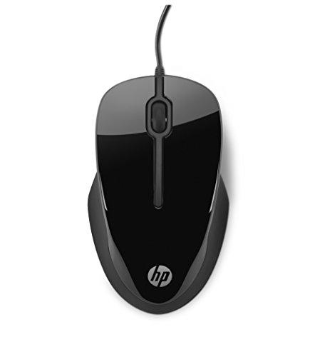 HP X1500 - Souris Filaire Noire (USB, 1000 DPI, Ambidextre)