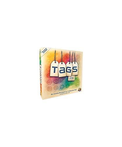 Asmodee HBGD0001 Tags Brettspiel, Mehrfarbig, bunt