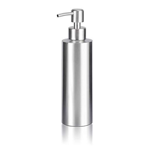 arktek Premium Edelstahl Seifenspender Pumpe silber