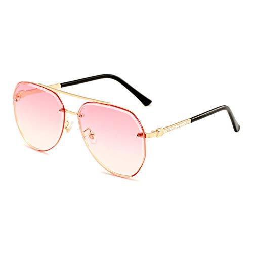 CYPZ Gafas de sol clásicas para exteriores con montura metálica para hombres y mujeres Gafas de sol para conducir al aire libre con montura completa y diamantes