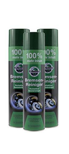 P4B 3X Dosen mit je 600ml BREMSENREINIGER Spray | Hochaktiver Spezialreiniger | materialschonender Reiniger | ohne Rückstände