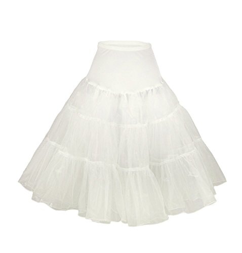 Vintage Women's 50s Rockabilly Tutu Skirt. Ideal for creating a Madonna costume.