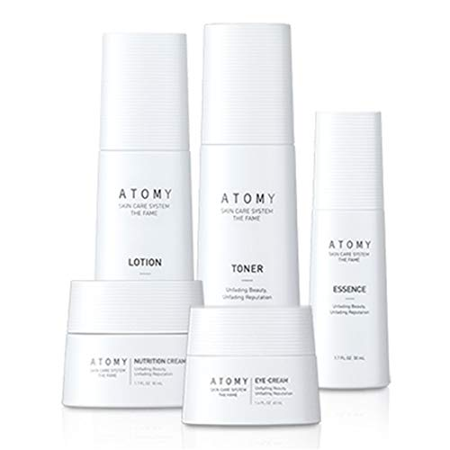 of korean skin care products Atomy Skin Care System THE FAME - Unfading Beauty, Unfading Reputation-Lotion.toner,Essence,Eye cream,Nutrition Cream-Korean made6