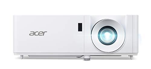 Acer XL1320W DLP-LASER Beamer (WXGA (1.280 x 800 Pixel) 3.100 Lumen 2.000.000:1 Kontrast, 3D, Keystone, 1x 3 Watt Lautsprecher, HDMI (HDCP), Audio Anschluss) Home Cinema / Business