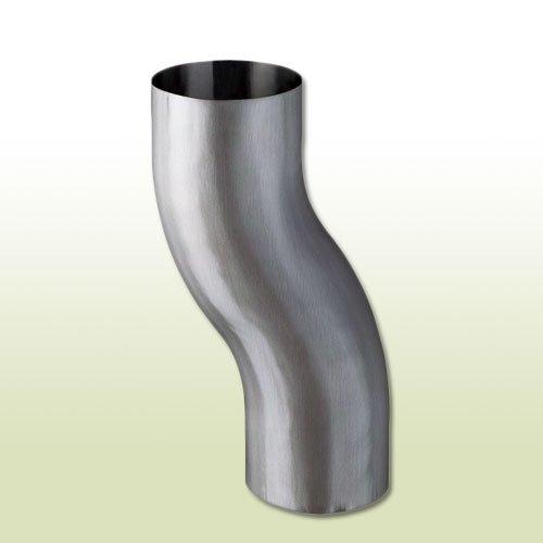 Aluminium Sockelknie Etagenbogen DN 100
