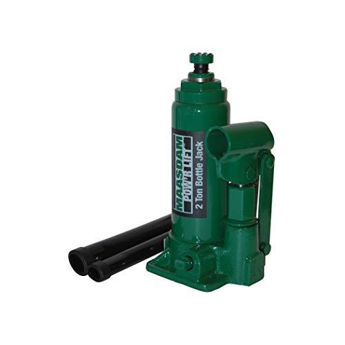 Maasdam MPL2B Bottle Jack Standard, 2 Ton, Green