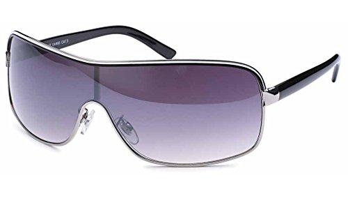 UVprotect leichte Damen oversize Monoglas sportlicher fashion Style Sonnenbrille lila Verlauf W71-5