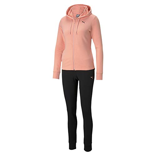 PUMA Classic HD. Sweat Suit TR Chándal, Mujer, Apricot Blush, XS