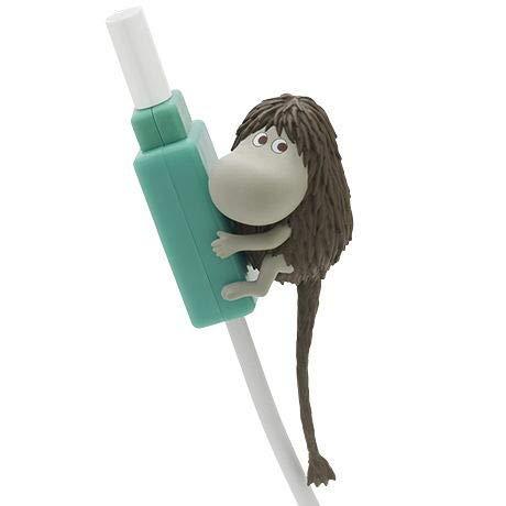 ムーミン ぎゅっと抱きつきケーブルカバー [5.ご先祖さま](単品) ガチャガチャ カプセルトイ