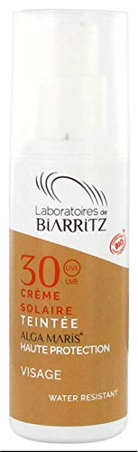 Algamaris Getönte Sonnencreme, Gesicht, hell, SPF30, Bio-zertifiziert