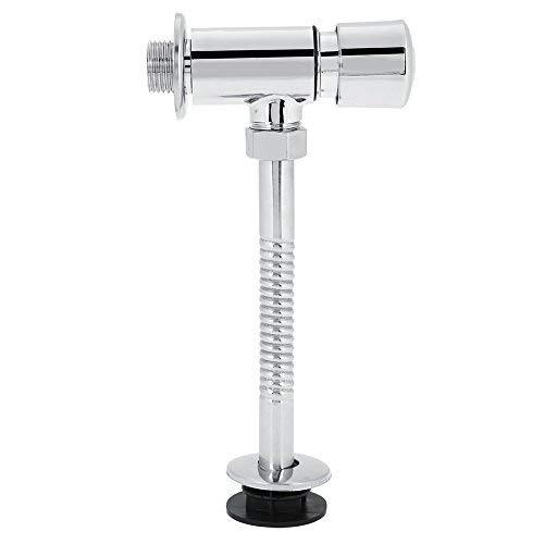 Toiletten-Urinal-Spülventil, langlebig, Zinklegierung, manuelles Flowise-Spülen für Zuhause, Hotel, Badezimmer, automatische Abschaltung