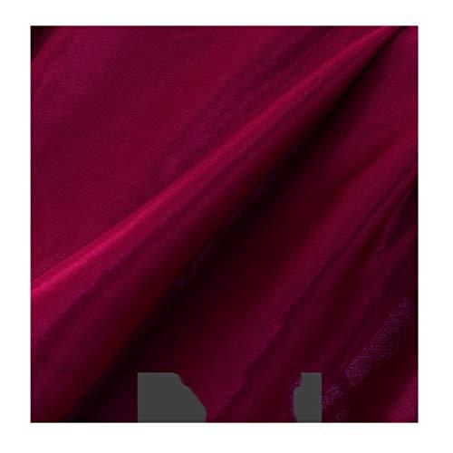 yankai Baumwollstoff aus 100% Baumwolle Stoff Stoff Seide Stoff einfarbig Bühnenvorhang Hochzeit Hintergrund Stoff Feste Breite 1,6 m NIU