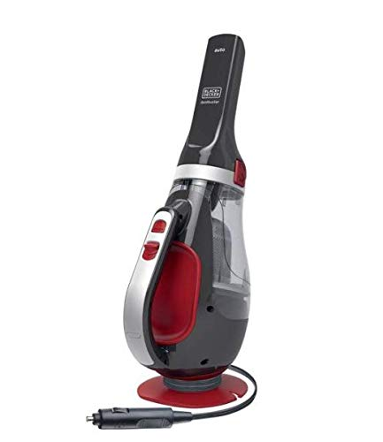 Lowest Price! Black&Decker Calabash Shaped Auto Handheld Vacuum Cleaner 12V ADV1200