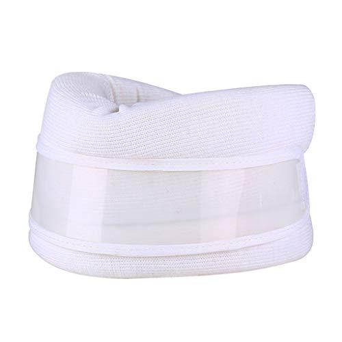 Hellery Nackenbandage Nackenstütze Halsbandage Halskrause, Lindert Hypermobilität, Überlastung der Nackenmuskulatur - Weiß