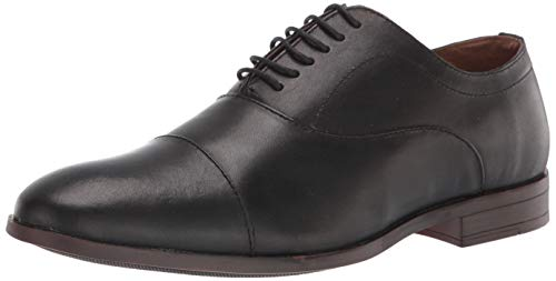 Marca Amazon - find. Finch Zapatos de Cordones Oxford, Negro Black, 39/40 EU
