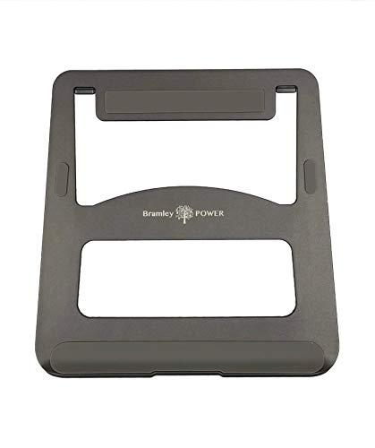 Bramley Power Solid Aluminium Desktop Folding Ordinateur Portable Stand Pour Apple Macbook Pro / Air et tous les ordinateurs portables dans le choix d