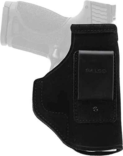 Galco Stow-N-Go Inside The Pant Holster for FN FNS 9/40,Glock 19, 23, 32, 36,Black,Right