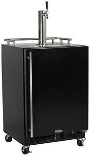 Marvel ML24BSSMRB Mobile Draft Beer Dispenser Single Tap Black Door, 24