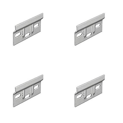Soportes colgantes para armario de cocina para montaje en pared, 63 mm x 4