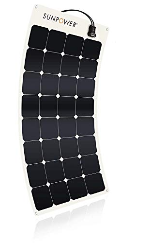SunPower 110 Watt Flexible Solar Panel