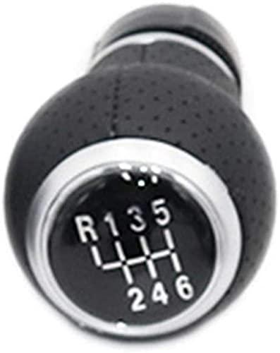 Perilla de Cambio de Marchas Manual de Coche de 5/6 velocidades, Cubierta de Bota Gaitor, Orificio de 12 MM, Apto para Escarabajo V/W 2000-2010-6 velocidades