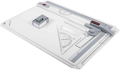 RTUTUR Praktisches 50 * 37cm A3 Schnelles Tragbare Hochschule Zeichenbrett Büro Grafik-Designs Arbeit Drafting höhen- und Angles