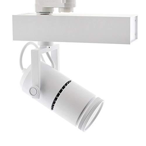Foco carril TELESCOPIC CITIZEN LED, 28W, 10º-70º, blanco, Regulable, Blanco frío, regulable