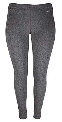 Carhartt Women's Force Heavyweight Thermal Base Layer Pant, Deep Black Heather, Medium