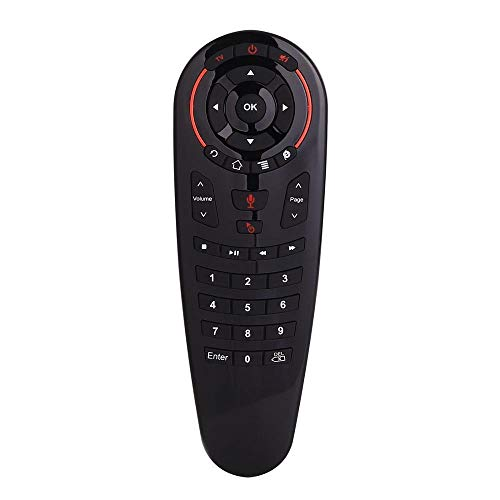 Yajie-RC, Air Mouse Voz de Control Remoto Apto for G30S de 2.4G 33 IR de Las Llaves de Aprendizaje Gyro Sensing Teclado for Android Smart TV Box PC H96max