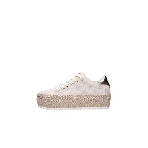 Guess Sneakers Donna White Fl6mrlfal12