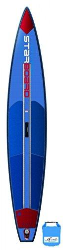 Starboard Racer Deluxe 12'6 SUP 2017 Board inkl. SUPwave Dry-Bag aufblasbar iSUP...