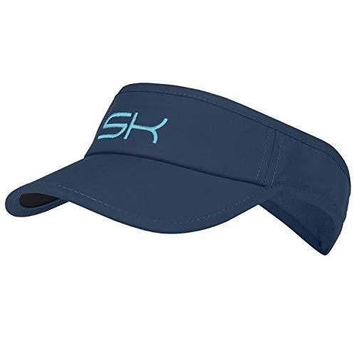 Sportkind Tennis, Running, Golf Sonnen Visor, Navy blau